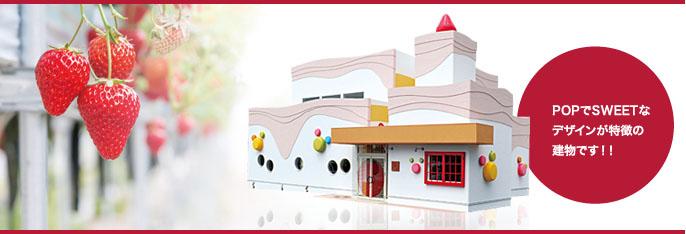 POPでSWEETなデザインが特徴の建物です!!